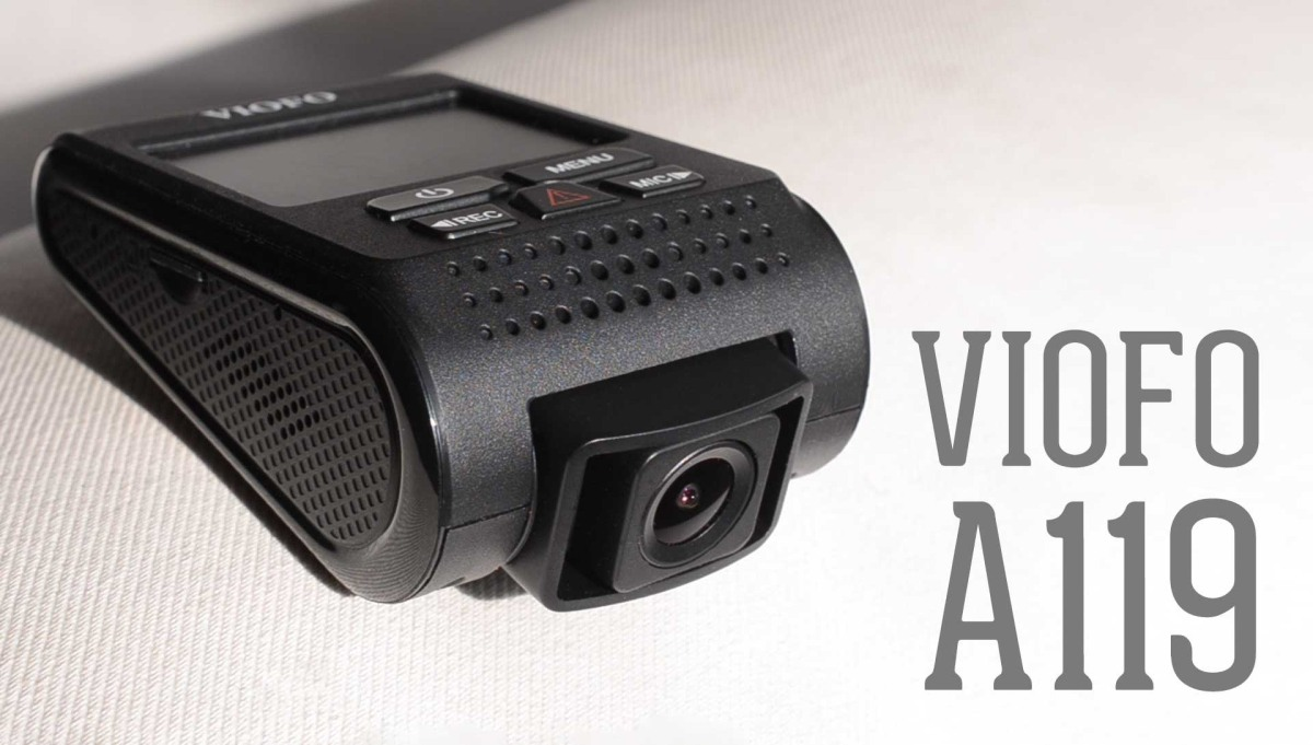 viofo a119s / a119 - מצלמת דרך איכותית ומשתלמת